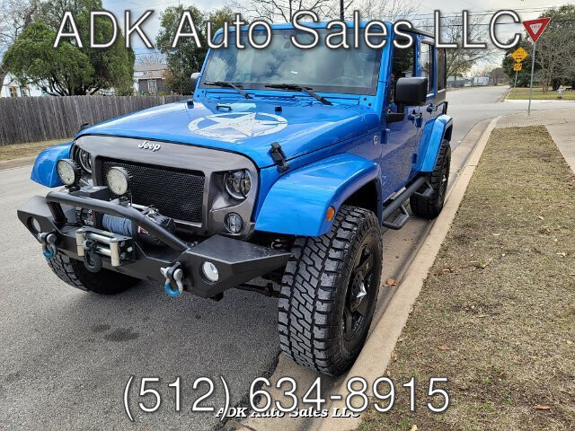 2015 Jeep Wrangler Unlimited Sport 4WD 5-Speed Automatic
