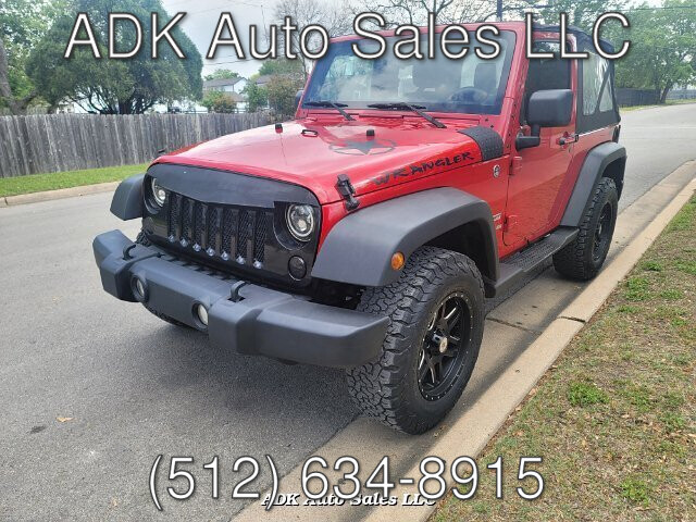 2012 Jeep Wrangler Sport 4WD 5-Speed Automatic