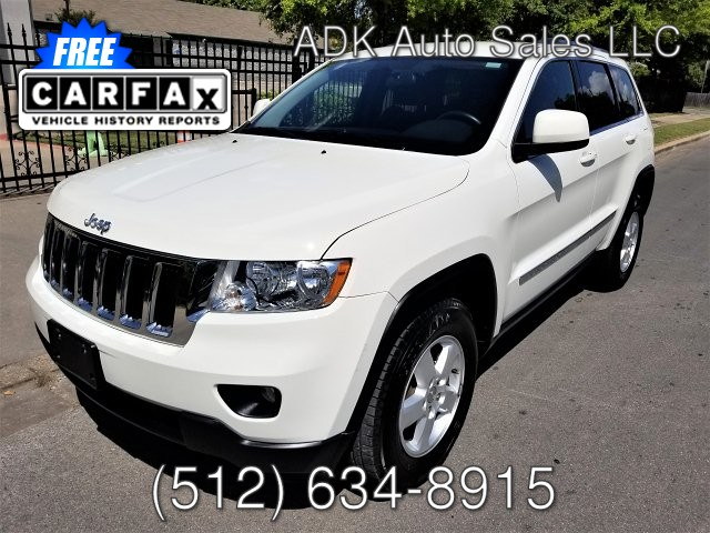 2012 Jeep Grand Cherokee Laredo 2WD 5-Speed Automatic