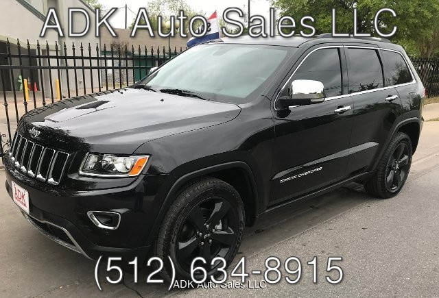 2014 Jeep Grand Cherokee Limited 2WD 5-Speed Automatic