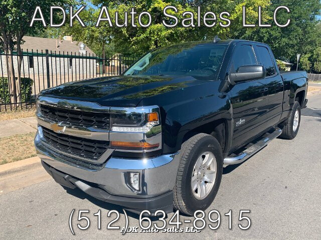 2016 Chevrolet Silverado 1500 LT Double Cab 2WD 6-Speed Automatic