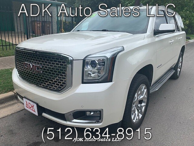 2015 GMC Yukon SLT 4WD 6-Speed Automatic