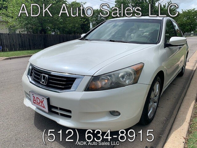 2009 Honda Accord EX-L V-6 Sedan AT 5-Speed Automatic