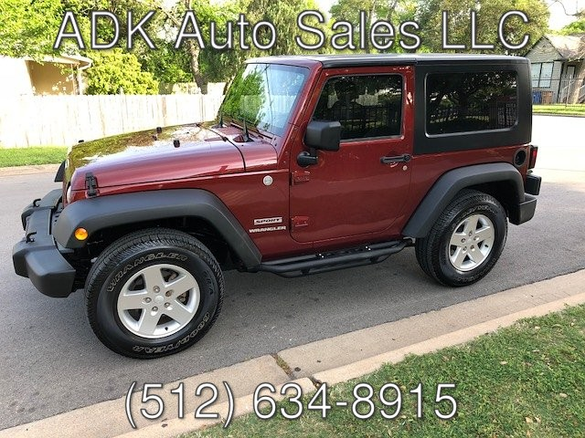 2010 Jeep Wrangler Sport 4WD 4-Speed Automatic