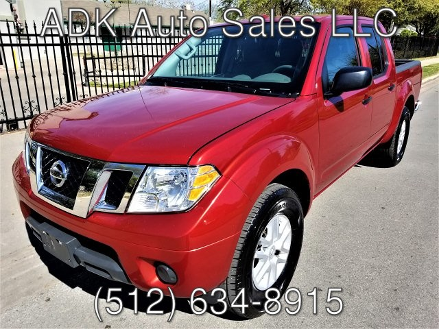 2018 Nissan Frontier SL Crew Cab 5AT 2WD 5-Speed Automatic