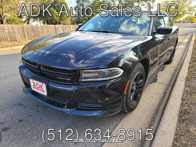 2019 Dodge Charger SXT 8-Speed Automatic