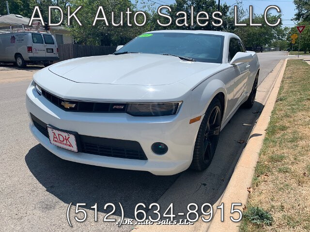 2014 Chevrolet Camaro Coupe 1LT 6-Speed Automatic