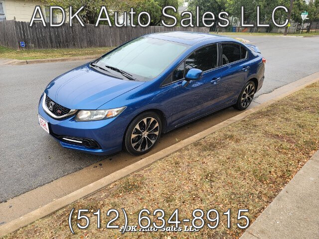2013 Honda Civic Si Sedan 6-Speed MT
