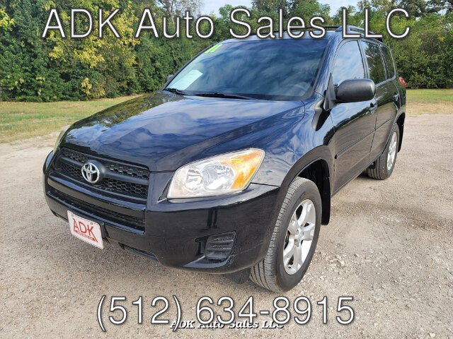 2011 Toyota RAV4 Base I4 2WD 4-Speed Automatic