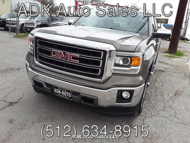2014 GMC Sierra 1500 SLT Crew Cab 2WD 6-Speed Automatic