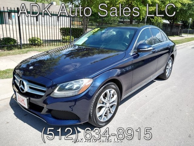 2015 Mercedes Benz C-Class C300 4MATIC Sedan 7-Speed Automatic