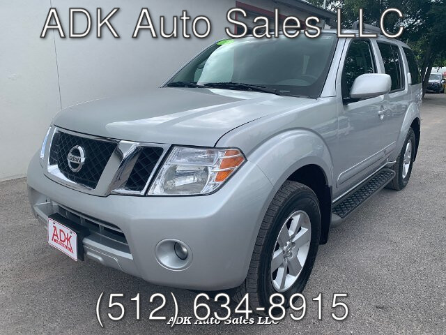 2011 Nissan Pathfinder S 4WD 5-Speed Automatic