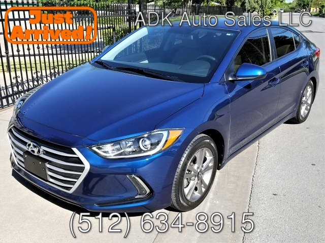 2017 Hyundai Elantra Limited 6-Speed Automatic