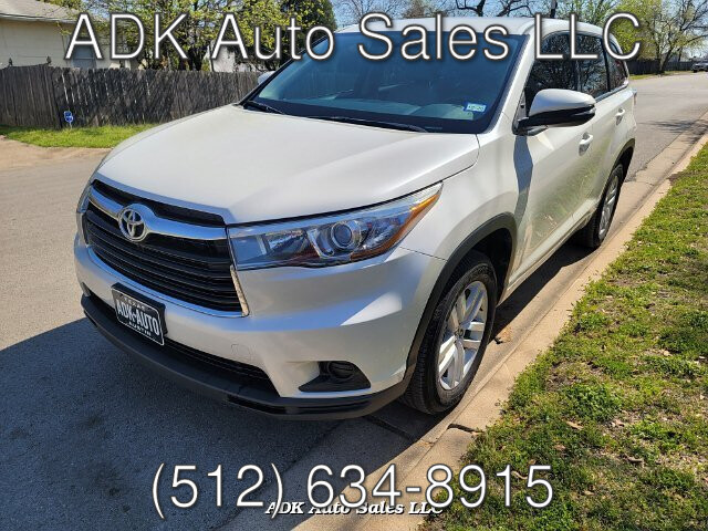 2016 Toyota Highlander LE FWD V6 6-Speed Automatic