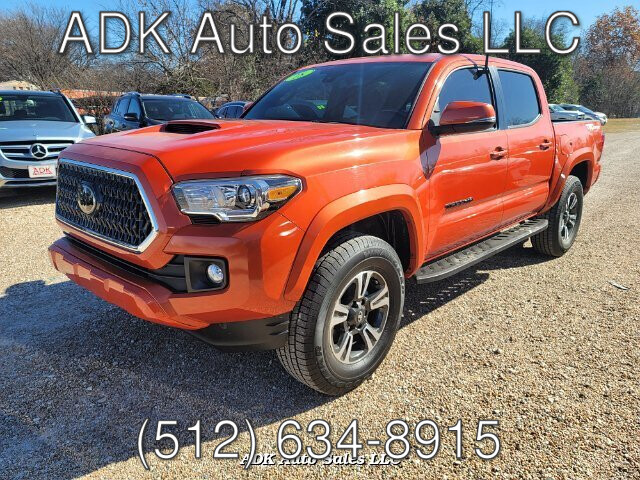 2018 Toyota Tacoma SR5 Double Cab Long Bed V6 5AT 2WD 6-Speed Automatic