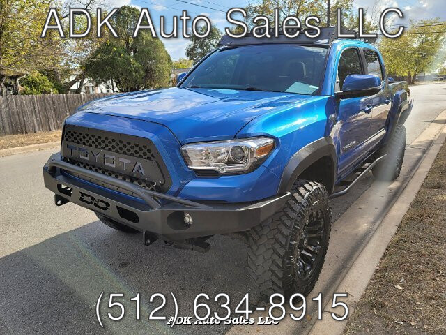 2016 Toyota Tacoma SR5 Double Cab Long Bed V6 6AT 4WD 6-Speed