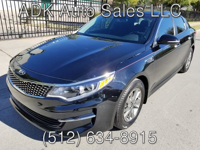 2016 Kia Optima LX 6-Speed Automatic