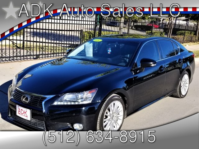 2013 Lexus GS 350 RWD 6-Speed Automatic