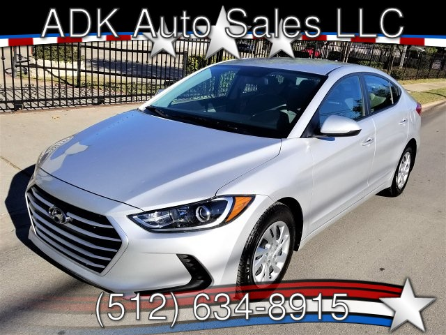 2017 Hyundai Elantra SE 6MT 6-Speed Manual