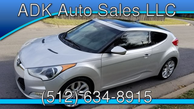 2013 Hyundai Veloster Base 6-Speed Automatic