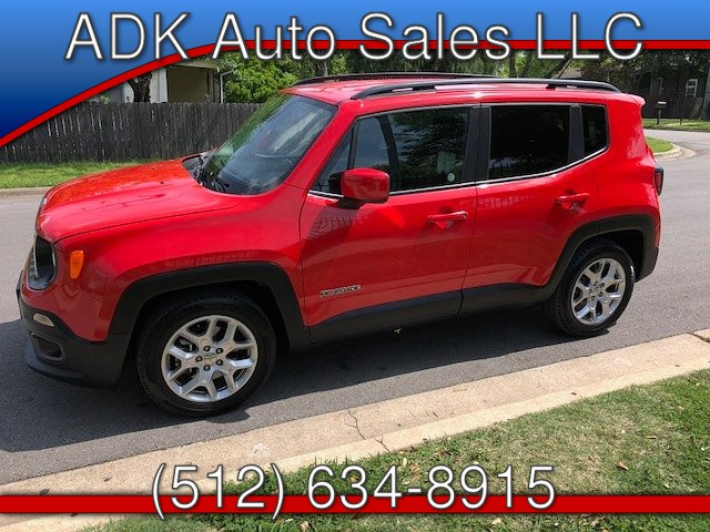 2017 Jeep Renegade Latitude FWD 6-Speed Manual