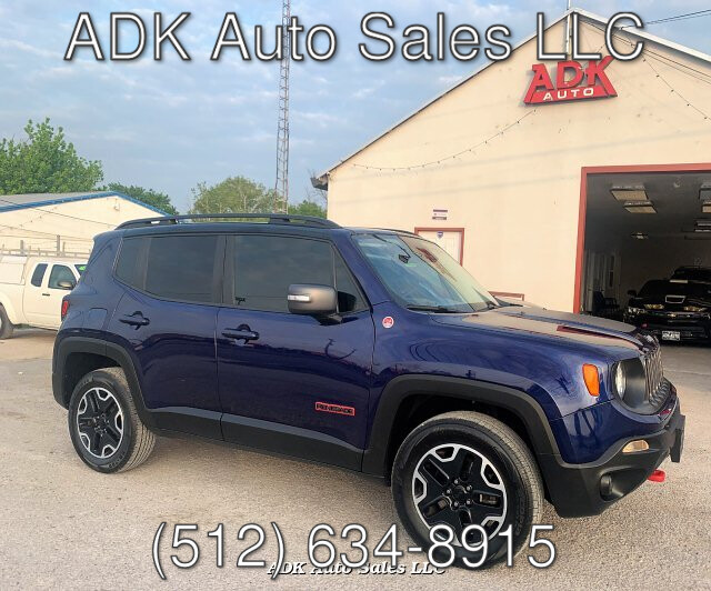 2016 Jeep Renegade Trailhawk 9-Speed Automatic