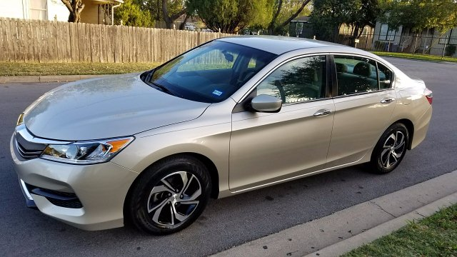 2016 Honda Accord LX Sedan CVT CVT