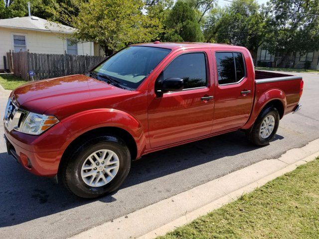 2015 Nissan Frontier S Crew Cab 5AT 2WD 5-Speed Automatic