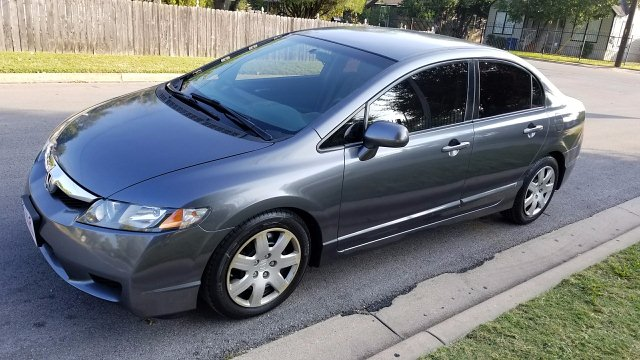 2010 Honda Civic LX Sedan 5-Speed AT 5-Speed Automatic