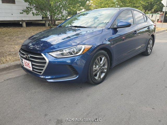 2018 Hyundai Elantra Limited 6-Speed Automatic