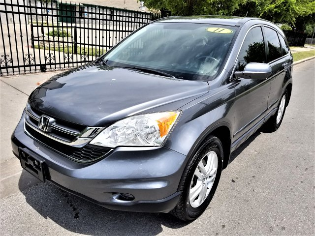 2010 Honda CR-V EX-L 2WD 5-Speed AT with Navigation